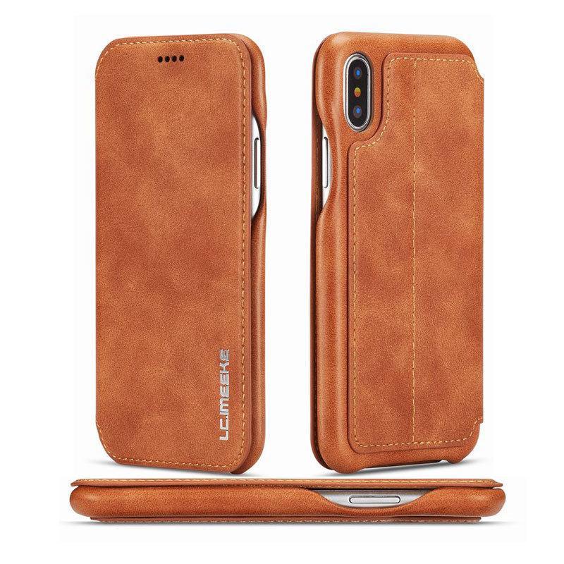 Telefon fällen für iphone 6s 7 8 6 plus apple x xs max xr case abdeckung luxus flip brieftasche magnetische ledertasche für iphone 7 plus coque