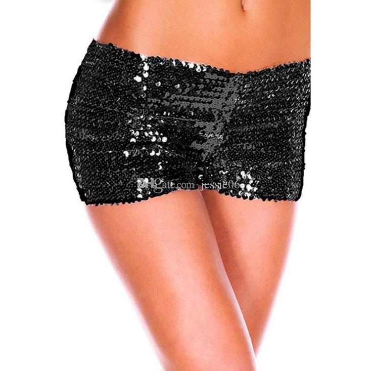 2019 европейские и американские сексуальные трусики с пайетками сексуальные женские трусики для коррекции фигуры милые девчачьи шорты шорты показать подарки бесплатно