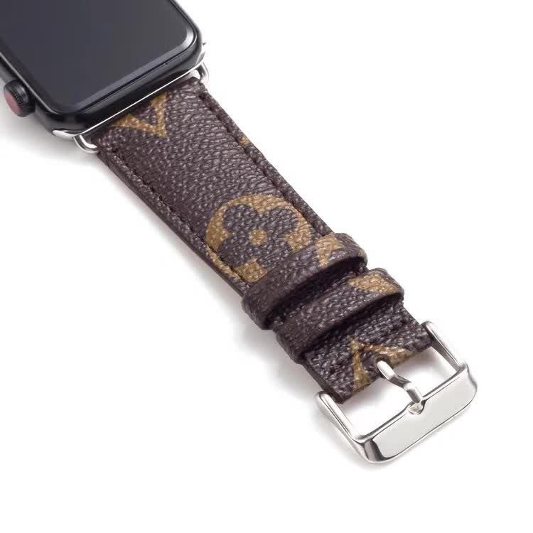 Для Часы Series5 4 Конструктор часы полос 40мм 44мм для iwatch Series123 Роскошный браслет из кожи Ремни 38мм 42мм