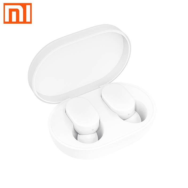 fone de ouvido originais AirDots Xiaomi Bluetooth simples Dividir música caixa de carga de armazenamento de chamada fones de ouvido Bluetooth Airdots 5.0 redmi