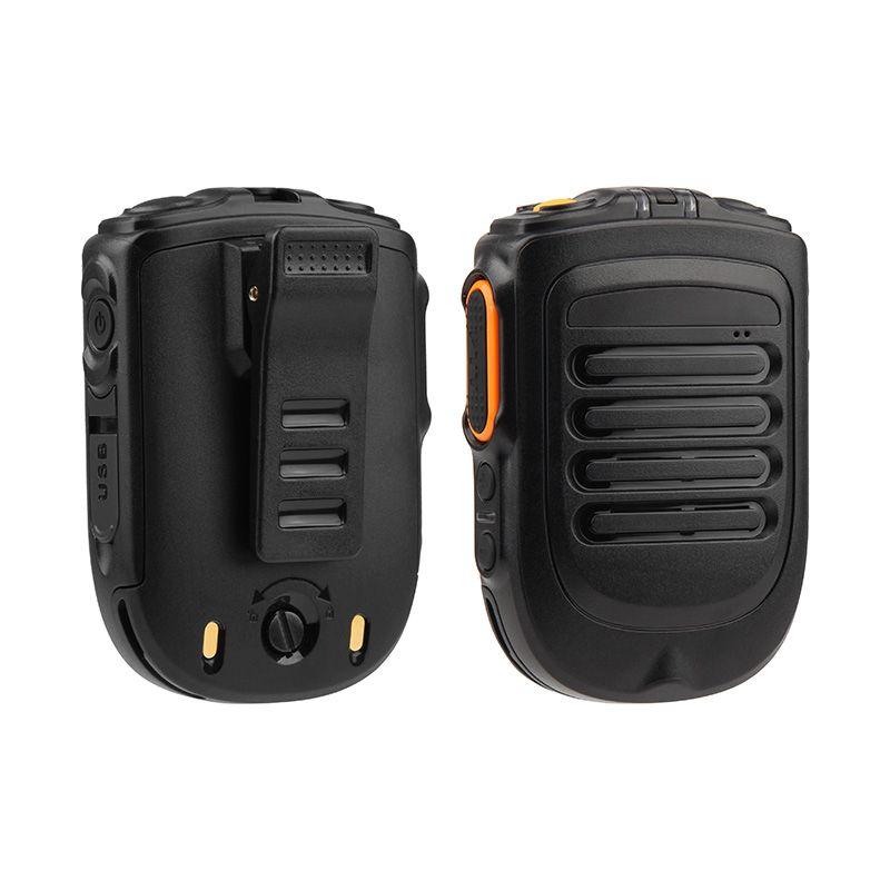 UNIWA BM001 Zello Walkie Talkie Handheld Bluetooth inalámbrico PTT Micrófono de mano para Alps F40 F22 + F25 Botón del teléfono móvil SOS