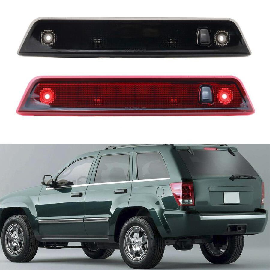 Автомобиль Tail третий стоп-сигнал для Jeep Grand Cherokee 2005 - 2010 High Mount Красный сигнал Taillight лампы