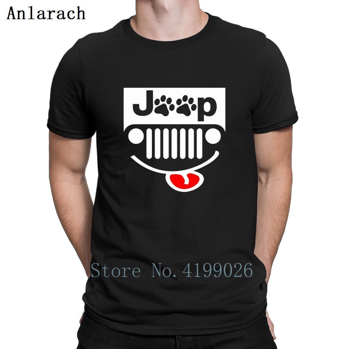 Jipes da pata T-shirt do presente da Primavera Tee Tops Plus Size 3xl camiseta For Men personalizado engraçado Anlarach Gents Vintage