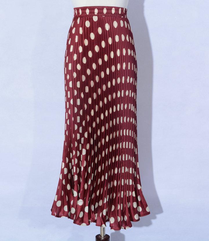 Andar de comprimento Mulheres saia de impressão senhoras saias lápis Prairie Chic Skirt