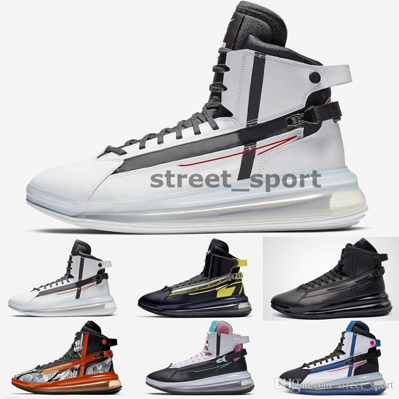 2020 New 720s Saturn White Red AO2110-100 Running Shoes Miami Vice March Madness Triple Black Mens Designer Sneakers Trainers Zapatos
