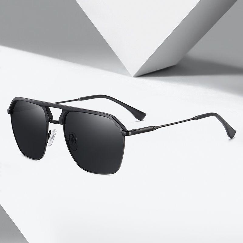 Aviación Italia Fin FONDYI Diseño de alta polarizado piloto Gafas de sol hombre cuadrado de lujo de conducción Sombras UV400 Gafas de sol con la caja CH01