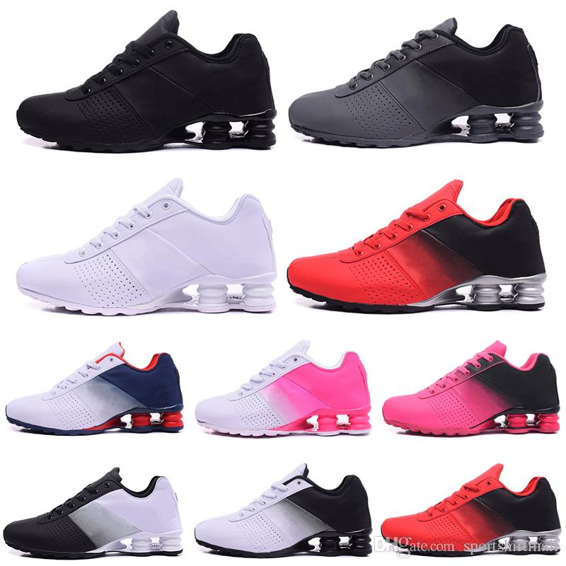 Toptan Erkekler Açık Spor Eğitmenler Sneakers OZ TL R4 Atletik İndirim Runner Yastık Yürüyüş Dağcılık Ayakkabı TESLİM Kaymaz