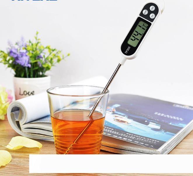 Termómetro cocina cocinar la carne de alimentos sonda barbacoa Horno utensilios de cocina Termómetro digital TP300 cocina Accesorios SN1900