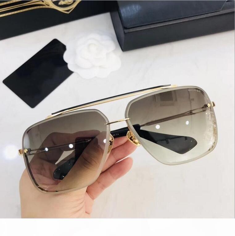 Alta calidad 001 mujeres gafas de sol de los hombres gafas de sol de los hombres gafas de protección UV400 del verano para mujer para hombre gafas de sol vienen con la caja de cuadro