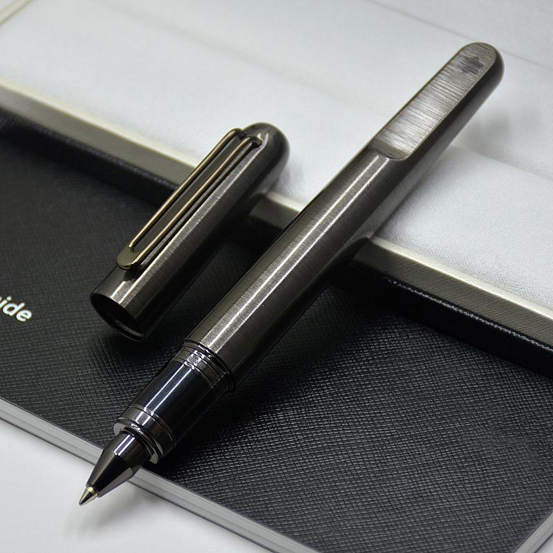 أعلى جودة عالية MB القلم طبعة محدودة M سلسلة الرمادي والفضي اغلاق المغناطيسي كاب رولربال القلم المكتبية القرطاسية واللوازم المكتبية والهدايا
