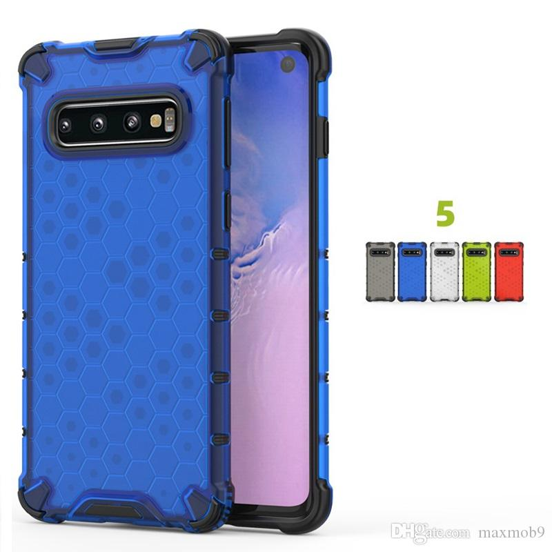 2019 New for iphone xs max xr x 8 7 6 plus hybrid tpu pc 2 in 1 phone case for samsung S10 PLUS NOTE 10 PRO case cover shockproof slim