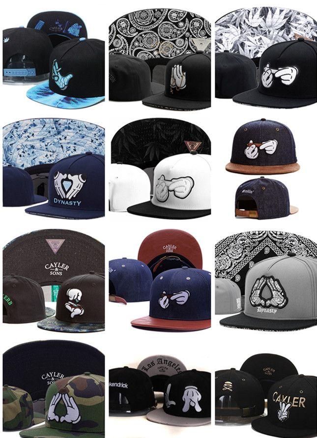 Crooks and castles snapback adjustable flat cap hip hop cap gorras baseball cap sports wholesale high quality hat for men and women