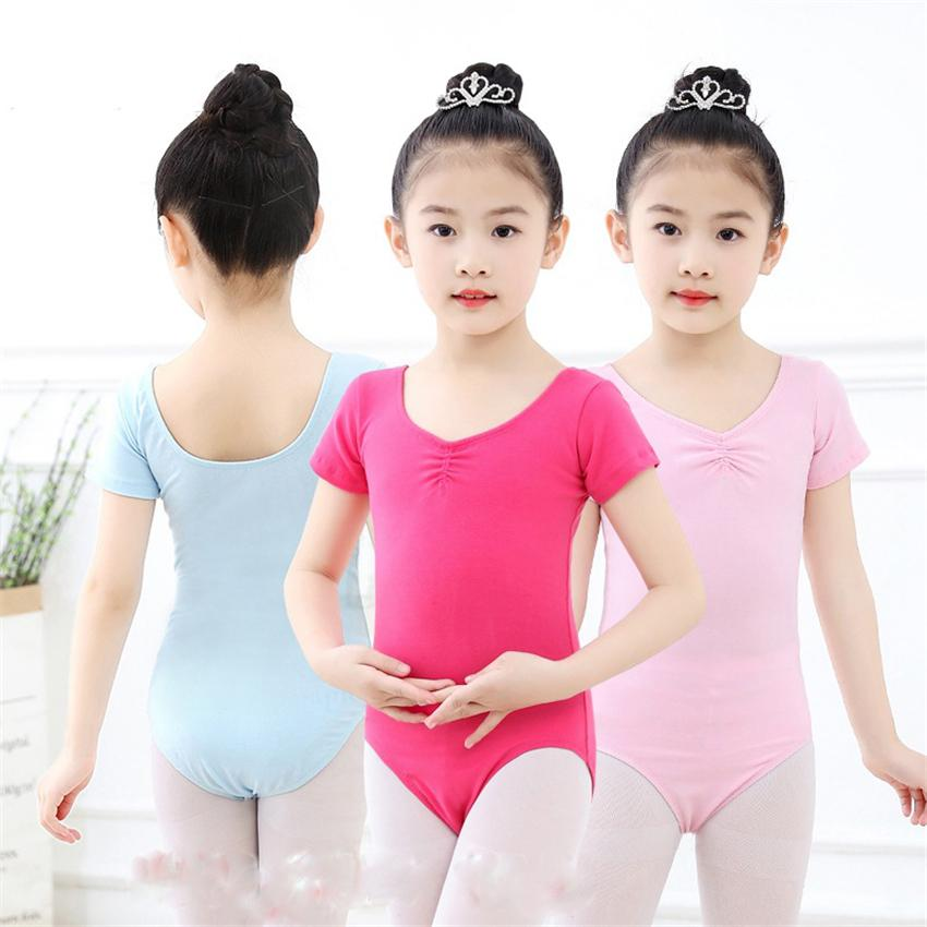 Toddler Girls Gymnastics Ballet Leotards Dance Outfit Full Body Jumpsuit Costume