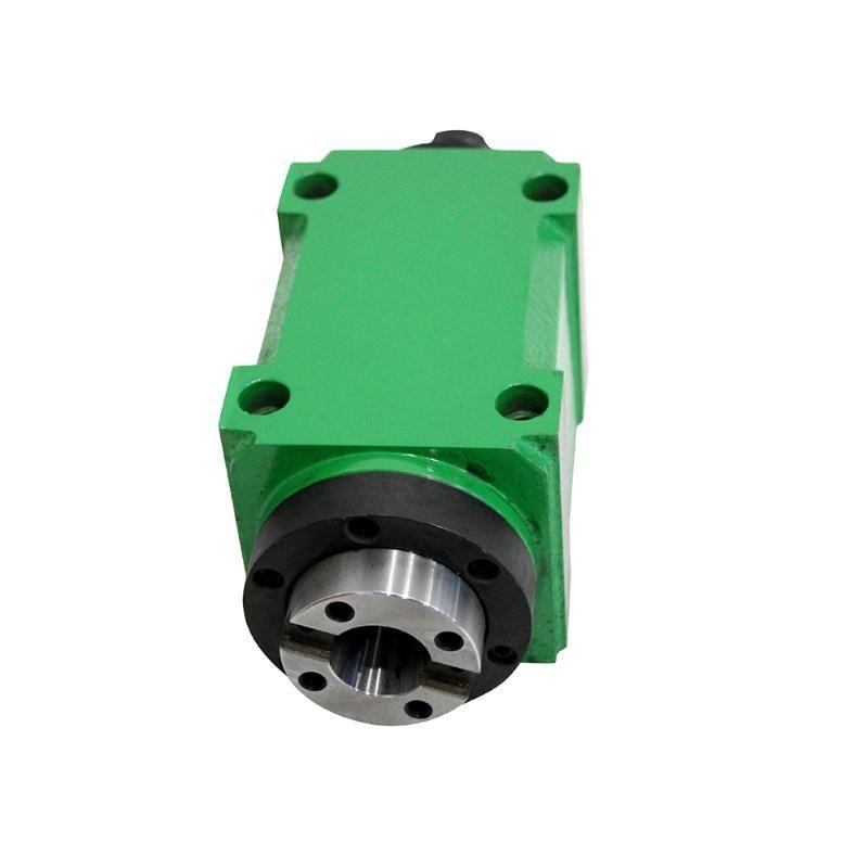 Máquina-herramienta ER20 unidad del rotor Chuck Cabeza 750W de potencia de 1 HP 60mm 80mm mecánica husillo de fresado CNC de perforación de corte Boring