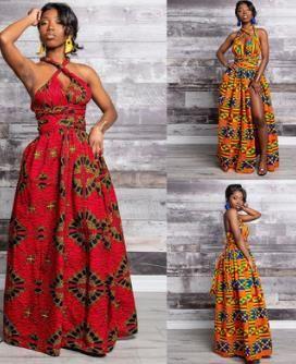 아프리카의 긴 드레스 여성 전통 아프리카 의류 Dashiki Ankara Maxi Sundress 우아한 다중 착용 인쇄 여름 옷