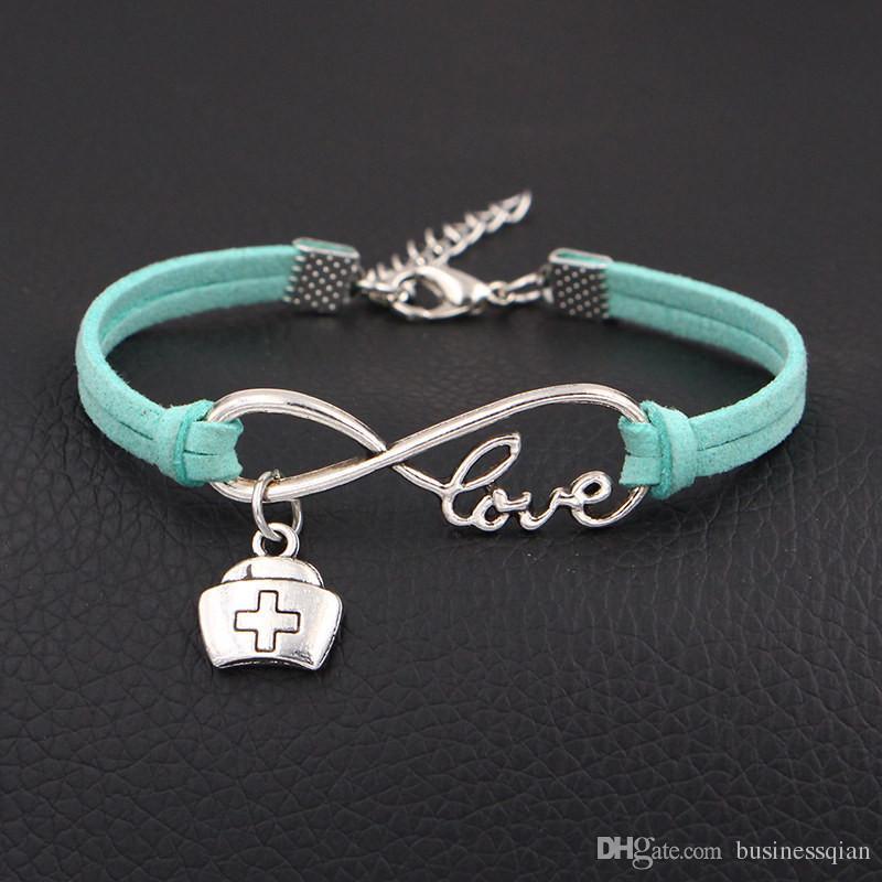 Hot Infinity Love Doctor Medicine Box Nurse Cap Bracelet