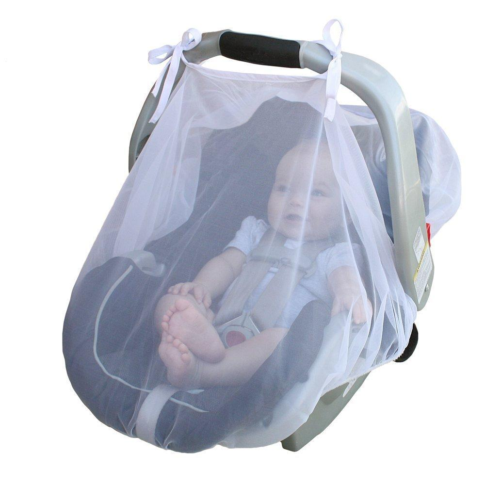 15465 Breathable Infant Baby Bug Insect Netting Lace Tulle Infant Carriers Car Seats Cover Cradles