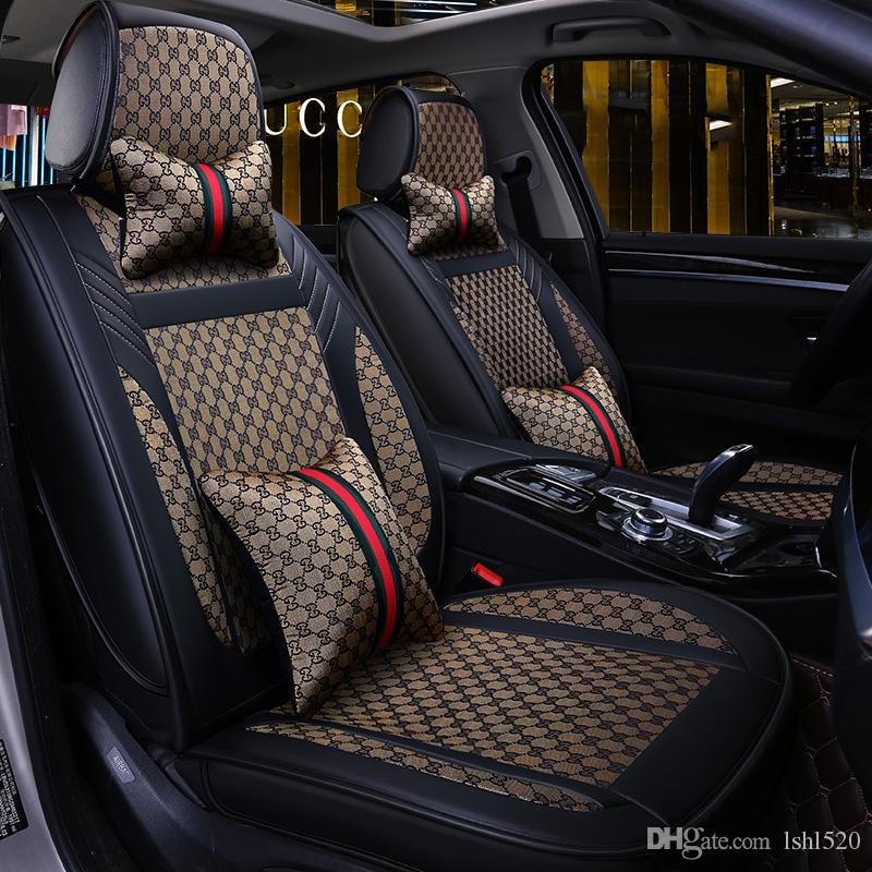 도요타 코롤라 캠리 RAV4 AURIS 프리우스 Yalis 아벤 SUV 자동차 인테리어 액세서리 2020 새로운 고급 PU 가죽 자동차 시트 커버