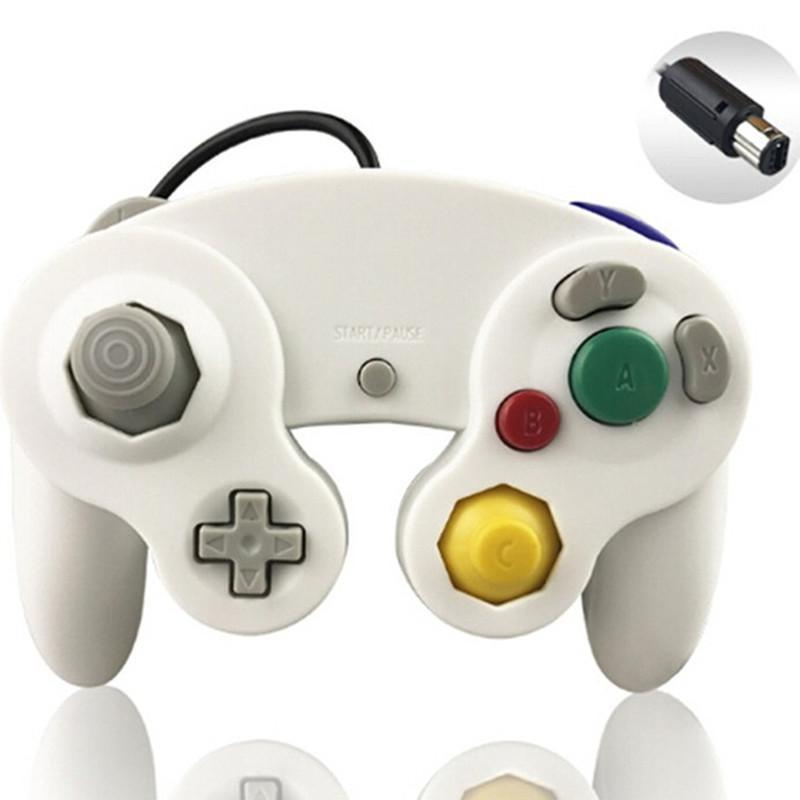 NGC Oyun Konsolu Gamecube Turbo DualShock Wii U Uzatma Kablosu Şeffaf Renk 60 UP için NGC Kablolu Oyun Denetleyici Gamepad