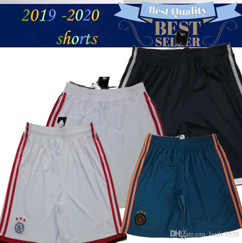 2019 2020 de alta calidad para adultos Ajax FC Fútbol cortos Camisetas de futbol 18/19/20 ZIYECH TADIC Dolberg DE JONG DELIGT tiros de fútbol pantalones