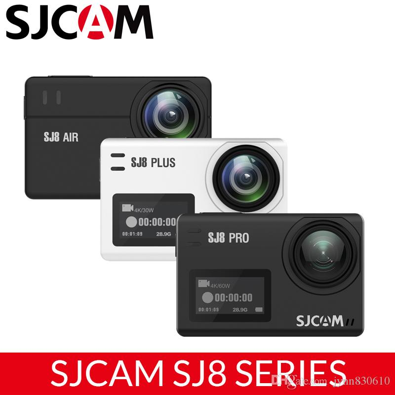 Original SJCAM SJ8 Series SJ8 Air & Plus & Pro 1290P 4K 60fps Action Camera WIFI Remote Control Waterproof Sport DV VR