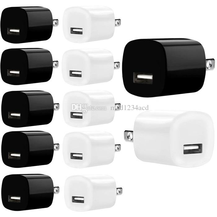 5V 1A US AC Home Wall Charger Travel Power Adapter Plug For Iphone 6 7 8 x 10 Pro Samsung htc android phone mp3