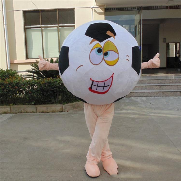 Parti kaliteli ücretsiz nakliye için 2020 Fabrika satış sıcak yetişkin özel yapılmış futbol maskot kostüm özel yapılmış