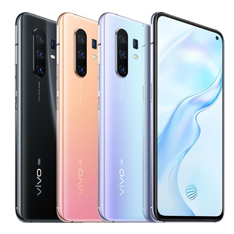 "Original Vivo X30 Pro 5G Mobile Phone 8GB RAM 128GB 256GB ROM Exynos 980 Octa Core 6.44"" Full Screen 64MP NFC Face ID Fingerprint Cell Phone"
