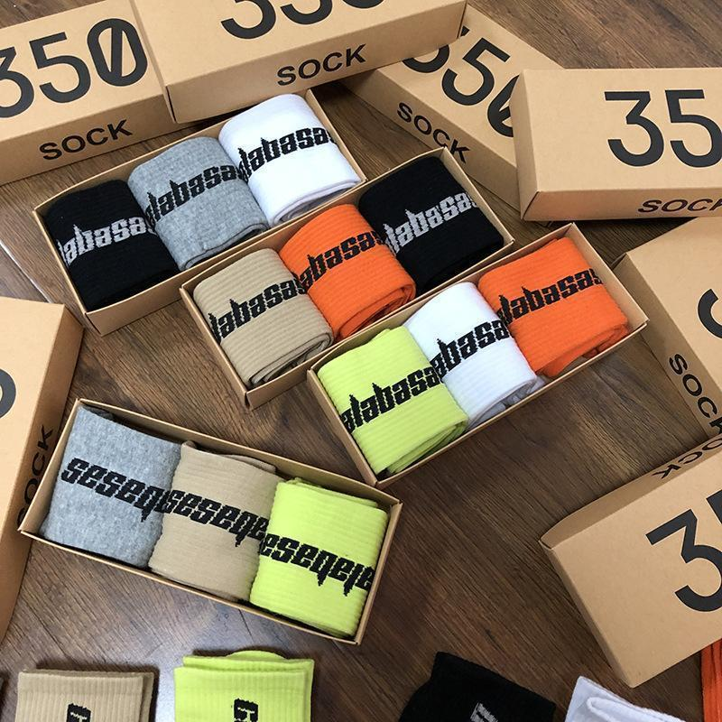 Season6 350 scatola i calzini Eur America del marchio di moda 500 700 Kanye West v2 Calabasas calza scarpe indossare come ti piace [ordine 5 paia almeno] fa723d #