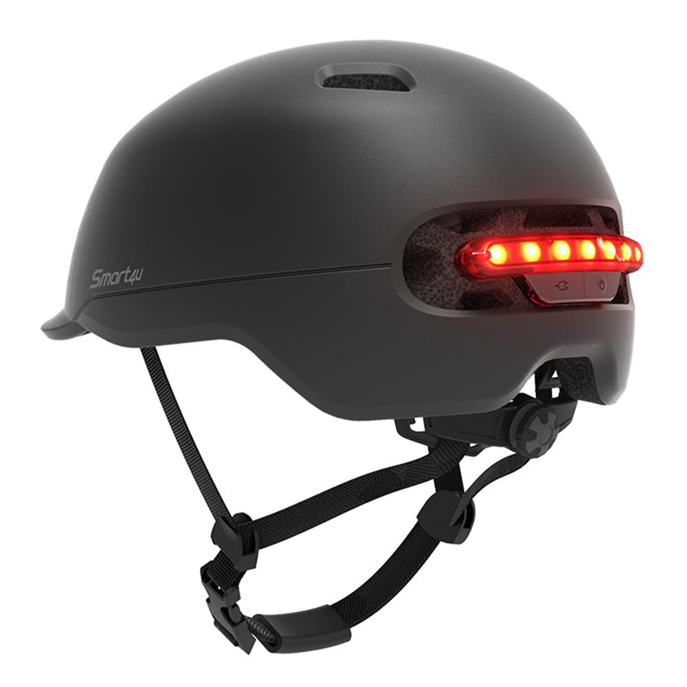 Smart4u SH50 الدراجات خوذة دراجة الذكية الخوذ فلاش ذكي العودة LED الضوء على دراجة سكوتر إنتقائي سكيت