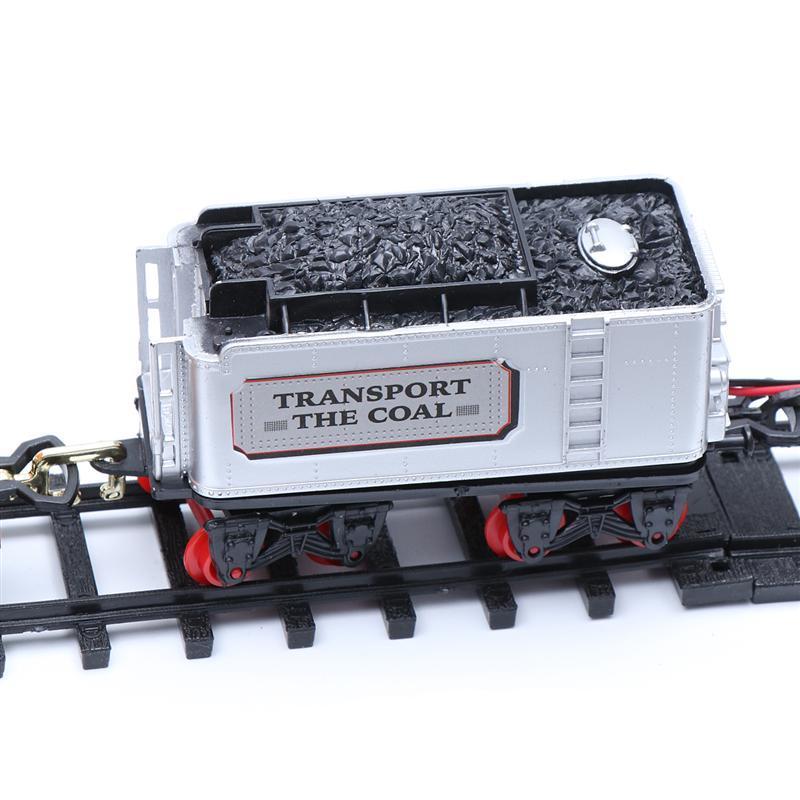 1 Set-Zug-Modell-Spielzeug Elektro Interessante Kunststoff Fernsteuerungsauto- Pathway Train Track Spielzeug Lern Spielsachen für Kinder