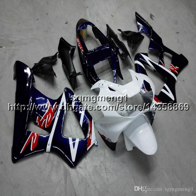 Geschenke + Schrauben Spritzgussform weiß blau Motorrad Rumpf für HONDA CBR929RR 2000-2001 CBR 929 RR 00 01 ABS Motorrad Verkleidungen Rumpf