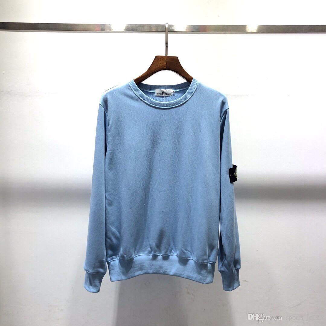 2019 أزياء الرجال desiger t-shirt النساء زوجين الخريف الشتاء الرجال 108 طويلة الأكمام هوديي الهيب هوب بلوزات سترة isl سترة 8104