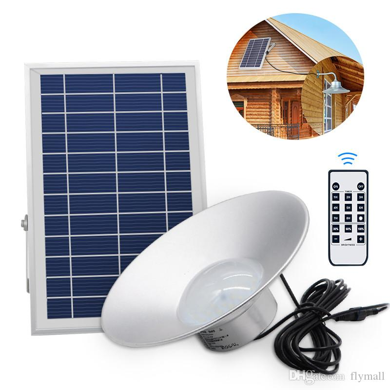 Solar Powered 36 LED Outdoor / Indoor Hanging Light Pendant Lamp with Remote Control for Garden Yard Patio Balcony Home