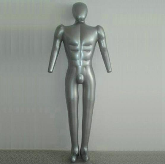 Sexy inflatable mannequin for clothes,male realist ,inflatable torso,pvc mannequin,full body doll mannequin ,1pc maniquis para ropa M00357