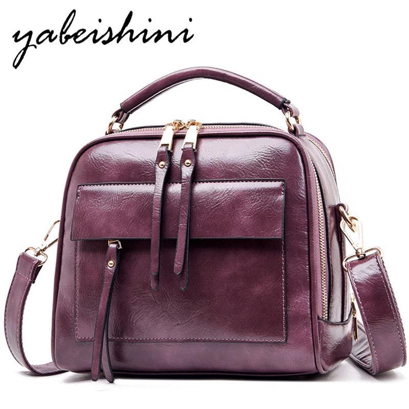 Мода роскошь сумки женщина сумка плечевых кожаных сумок для женщин 2019 Кроссбоди мешка bolso Mujer леди дизайнер сумки мешочек основного T200605