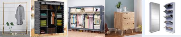 衣架、鞋柜