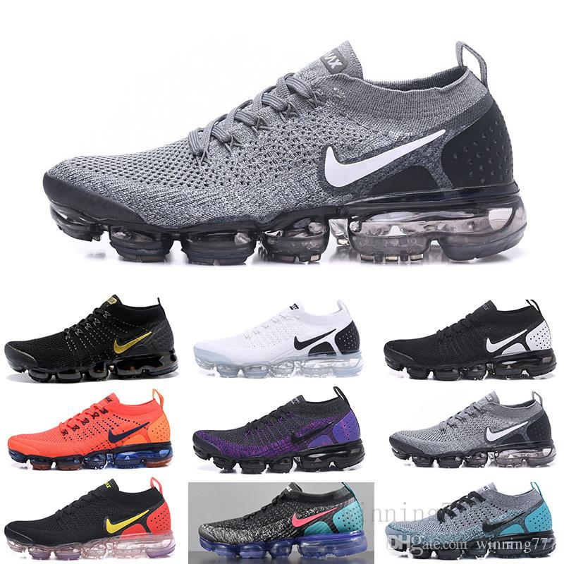 nike air max fly 1.0 2.0 2019 Knit 2.0 Fly 1.0 Homens Mulheres BHM Red Orbit metálicas triplo Ouro Preto Designers sapatilhas Running Shoes tamanho 36-45 P33MF