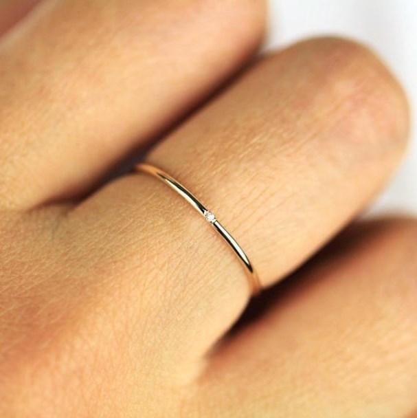 Кольца для женщин Micro-вкладыши Цирконий тонкий палец кольцо Мода ювелирные изделия кольца KCR101