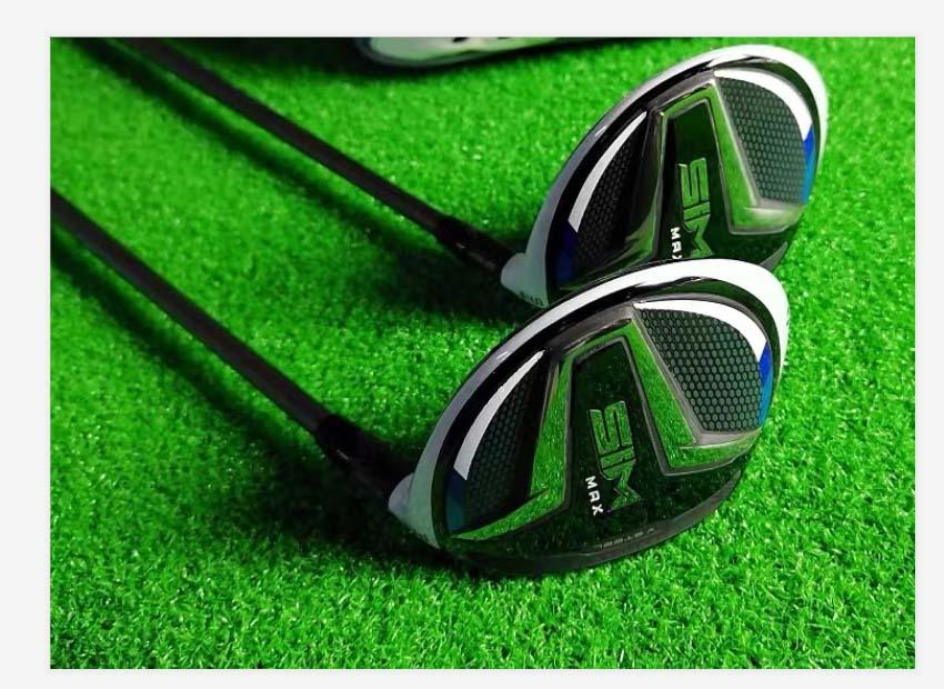 Fast Shipping Top Quality SIM MAX golfe fairway woods # 3 ou # 5 Real Fotos Contactar vendedor