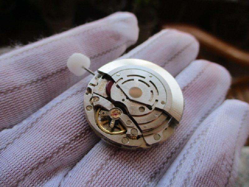 عالية الجودة 3186 حركة أوتوماتيكي GMT ساعة اليد ضبط سريعة التاريخ FOR 116710 الرجال باتمان مشاهدة استبدال إصلاح watchmker التبعي