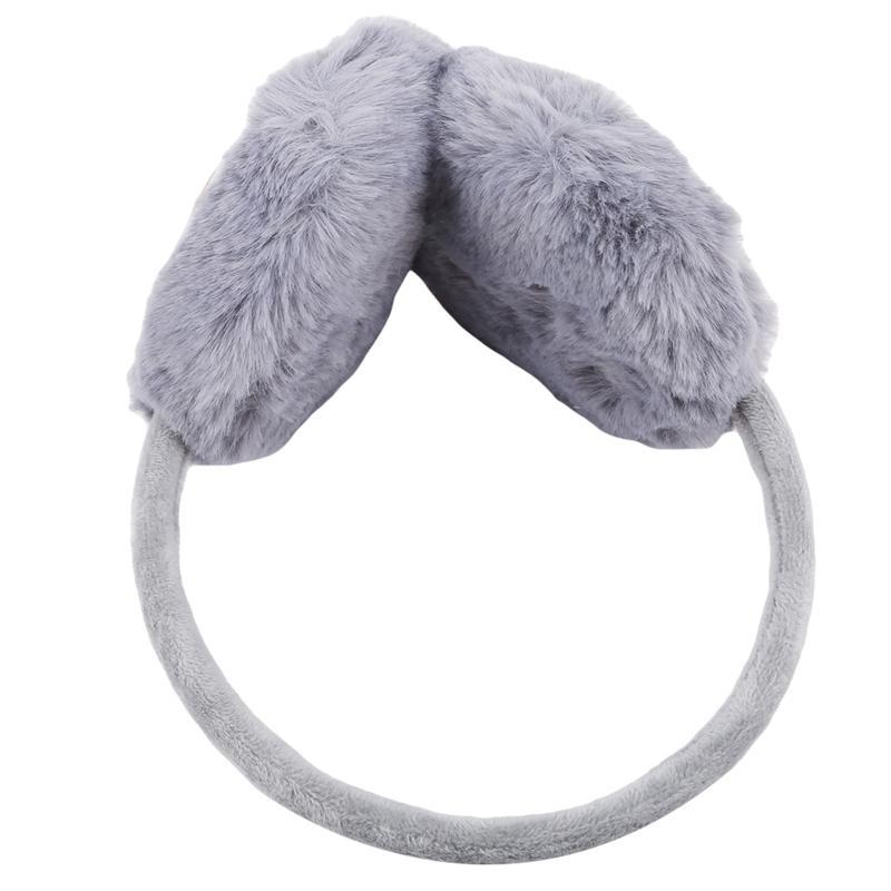 Réglables oreillères chaudes d'hiver pour les enfants en peluche adulte étoiles Cache-oreilles Protège-oreilles mignon cadeau pour fille Bandeau multicolore