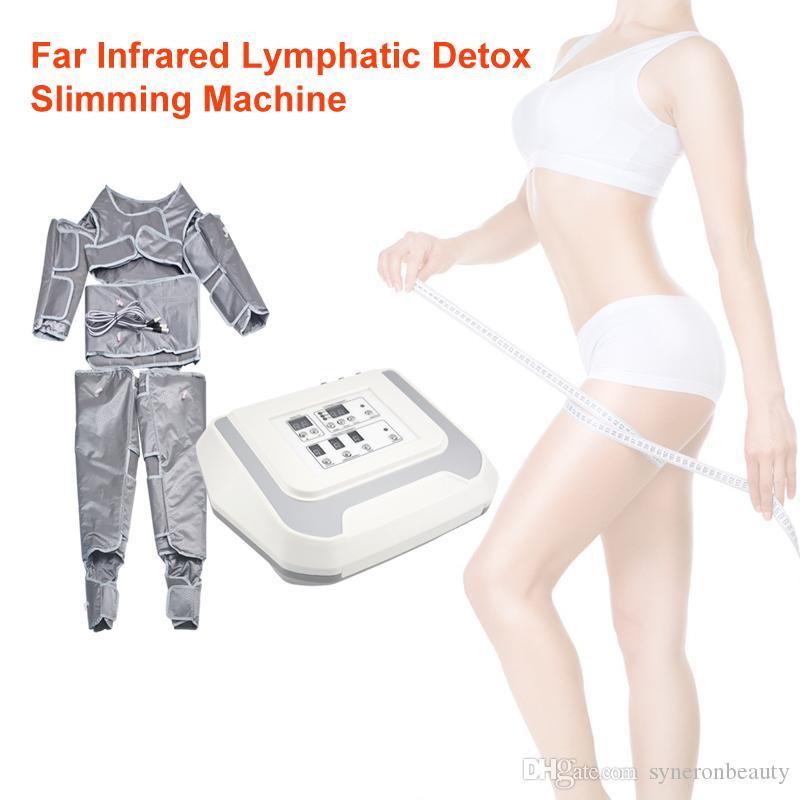 Pressoterapia Air Pressure Suit Perdita macchina Corpo che dimagrisce il peso Salon Linfodrenaggio macchina
