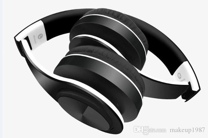 Качество беспроводных наушников стерео Bluetooth-гарнитуры наушников с микрофоном для наушников TF Card для iPhone Samsung
