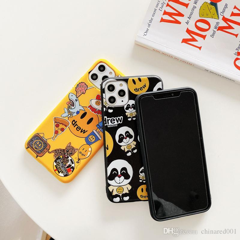 оптовый Джастин Бибер привлек дом Мягкого чехла кремния крышка для Iphone 7 7plus 8 8plus X XR XS Max 11 Pro Смайлик телефона Кока Capa