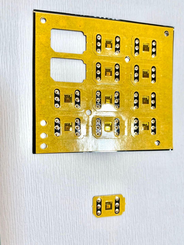 무료 DHL IOS13.4.5 3M 접착 VSIM V6 잠금 해제 카드 자동 팝업 메뉴 IP6 6S 7 8 X XS XR XSMAX 11PRO Gevey 프로에 대한