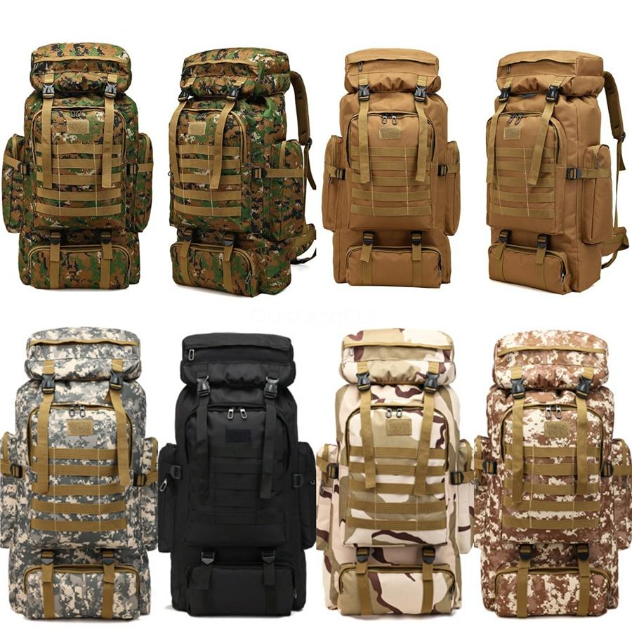Men Nylon Multifunction Travel Backpack Large Capacity Camping Casual Backpack 15-Inch Laptop Backpack Quality Women Outdoor Hiking Bag #1551