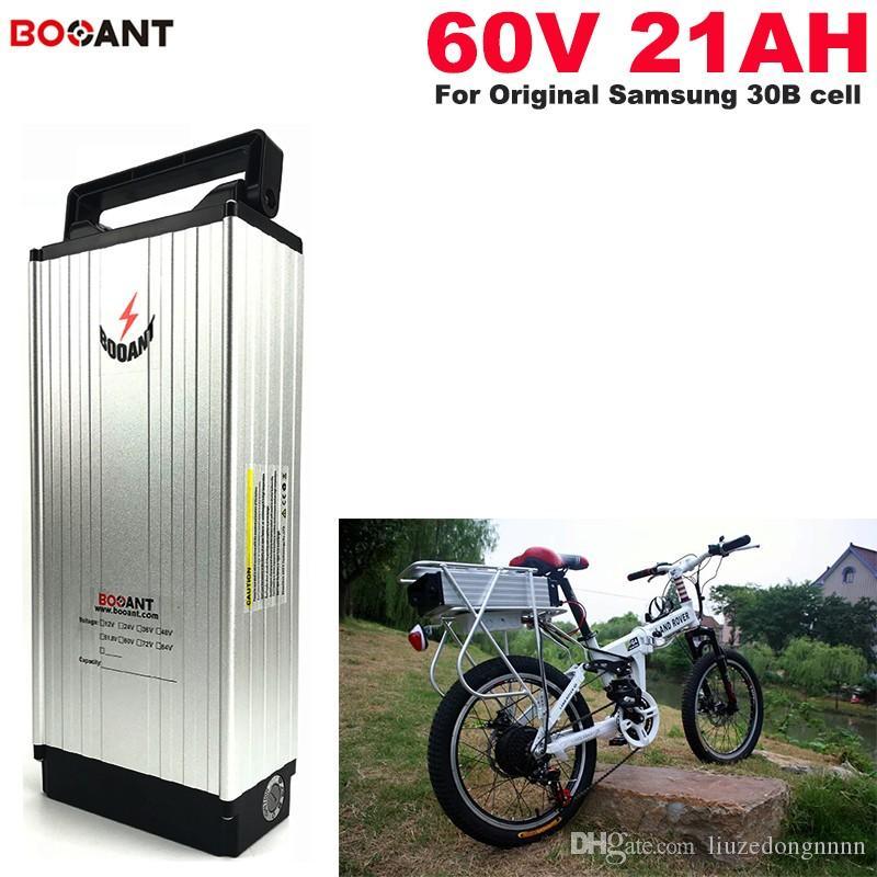 60V 20AH E-Bike-Lithium-Ionen-Batterie für die ursprüngliche Lithium-Batterie des Lithium-Batterie-60V der Zelle Samsung Samsung 30B 18650 Freies Verschiffen