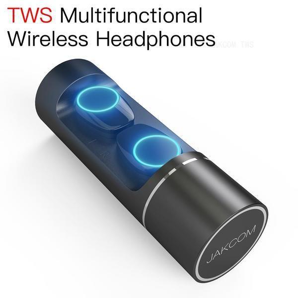 JAKCOM TWS متعددة الوظائف سماعات لاسلكية جديدة في سماعة رأس سماعة كما وتش airpots حزام حزام 4 المعادن