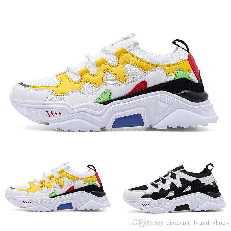 2020 renkli gri spor ayakkabı serin style5 yumuşak yeşil kırmızı dantel yastık Nefes MEN oğlan Koşu Ayakkabı Tasarımcısı eğitmenler Spor Spor ayakkabılar 38-47